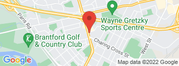 Google Map of 50+King+George+Road%2CBrantford%2COntario+N3R+5K3