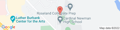Google Map of 50 Ursuline Rd, Santa Rosa, CA 95403