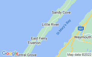 Map of Whale Cove Campground