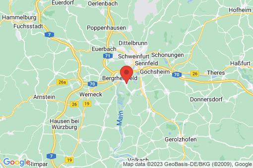 Karte Grafenrheinfeld