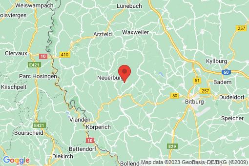 Karte Fischbach-Oberraden