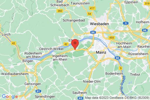 Karte Heidesheim am Rhein