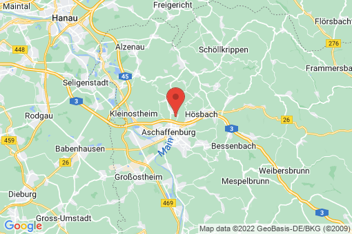 Karte Glattbach