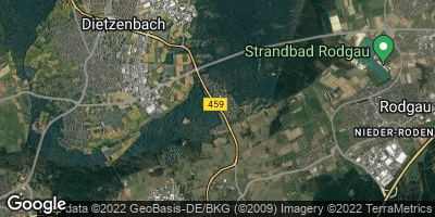 Google Map of Waldacker