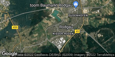 Google Map of Nieder-Roden