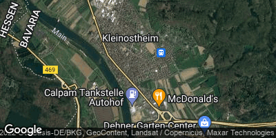 Google Map of Kleinostheim