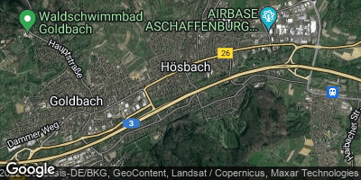 Google Map of Hösbach