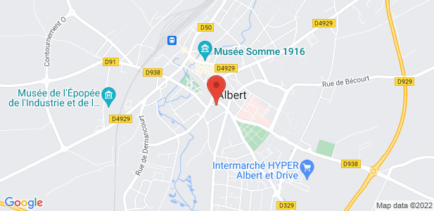 Location d'un bâtiment industriel de 2 000 m² divisibles à Albert (80)