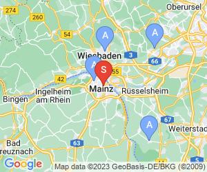 Karte für Taubertsbergbad Mainz