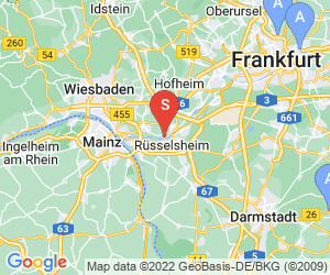Karte für Sportpark Flörsheim