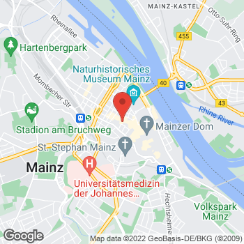 Map of Runners Point Mainz at Pfandhausstr. 6, Mainz,  55116