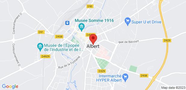 Bureaux proches de la rocade à Albert (80)
