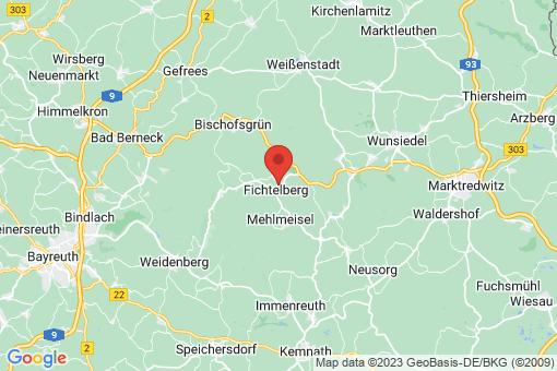 Karte Fichtelberg