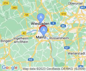 Karte für Landesmuseum Mainz