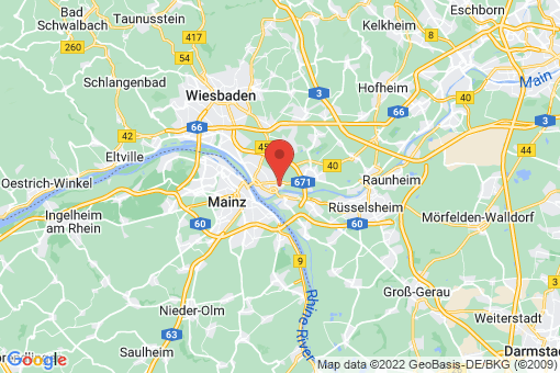 Karte Mainz-Kostheim