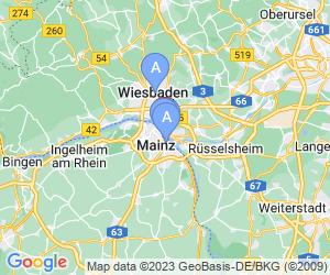 Karte für Römisch-Germanisches Zentralmuseum