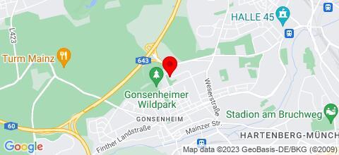 Google Map für Tilgert Wohnungen ab 10,50€
