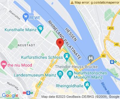 Anfahrt zu Alles Clean 24 Mainz - DE-MZ