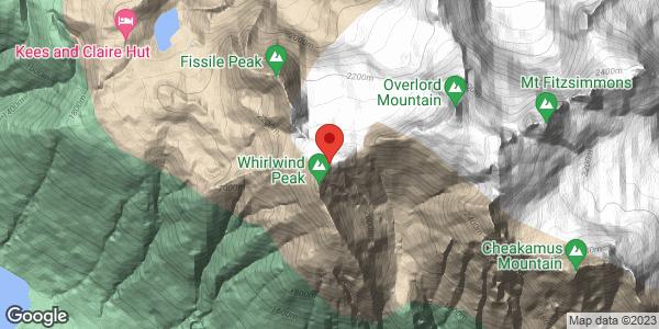 Whirlwind-Overlod glacier