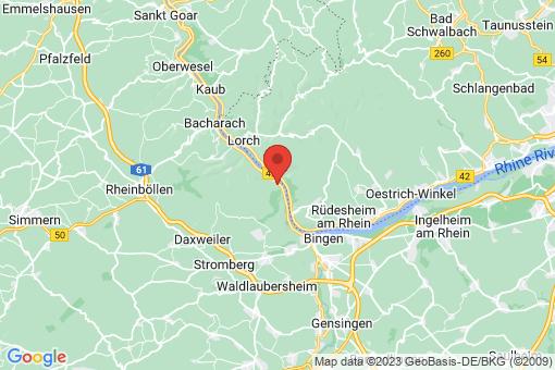 Karte Trechtingshausen