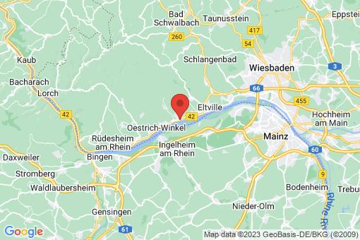 Karte Eltville am Rhein
