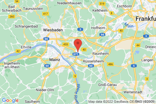 Karte Hochheim am Main