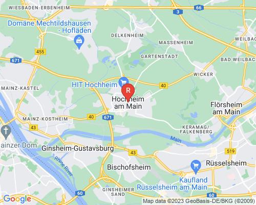 Google Karte von Rohrreinigung Hochheim am Main