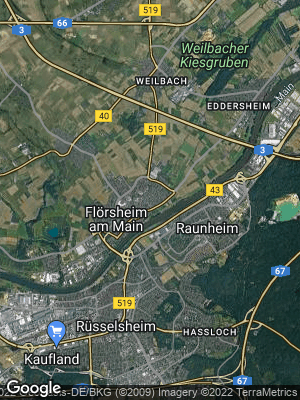 Google Map of Flörsheim