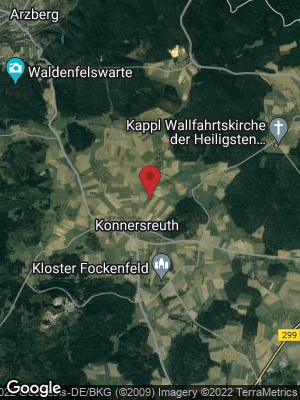 Google Map of Konnersreuth