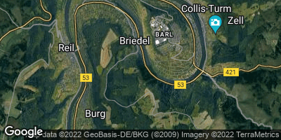 Google Map of Briedel