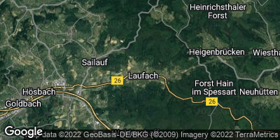 Google Map of Laufach