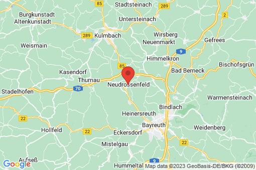 Karte Neudrossenfeld