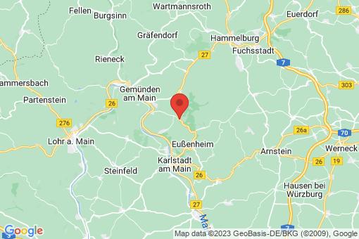 Karte Gössenheim
