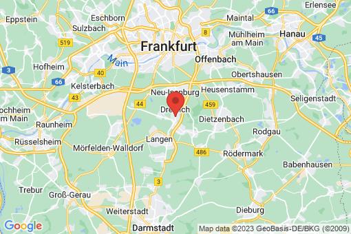 Karte Dreieich