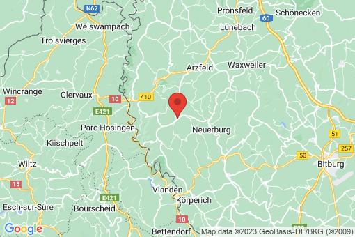 Karte Karlshausen