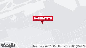Hilti Pop-Up Store Flughafen Frankfurt