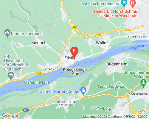 Google Karte von Rohrreinigung Eltville am Rhein