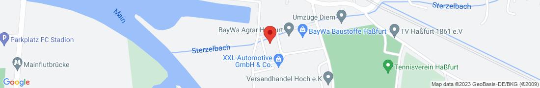 BayWa Baustoffe Hassfurt/Main Anfahrt