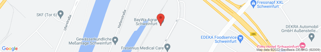 BayWa Agrar Schweinfurt Anfahrt
