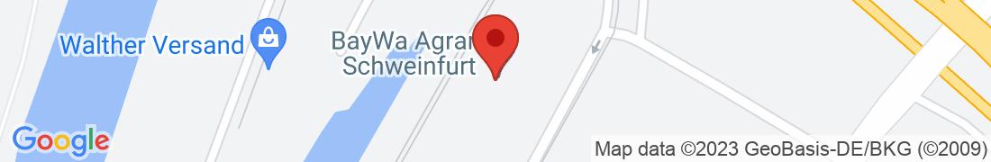 BayWa AG Schweinfurt Anfahrt