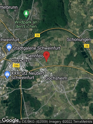 Google Map of Sennfeld