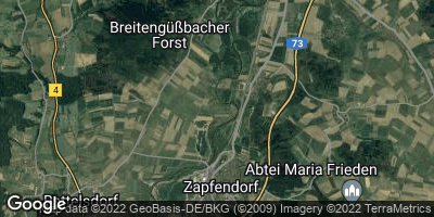 Google Map of Zapfendorf