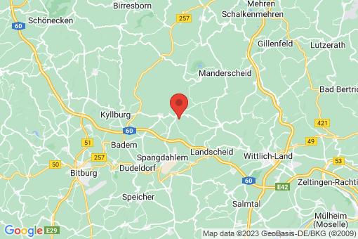 Karte Schwarzenborn