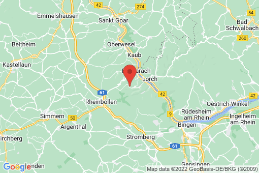 Karte Manubach