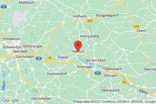 Karte Haßfurt