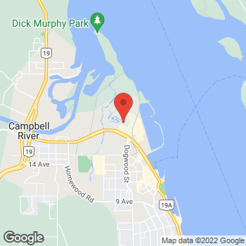 Map of Staples Print & Marketing Services at 1440 Island Hwy, Campbell River, BC V9W 8C9