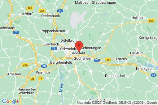 Karte Sennfeld