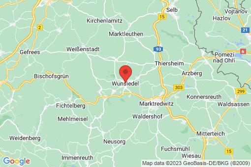 Karte Wunsiedel