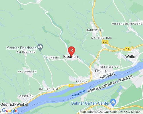 Google Karte von Rohrreinigung Kiedrich