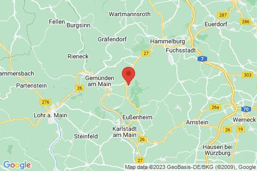 Karte Karsbach